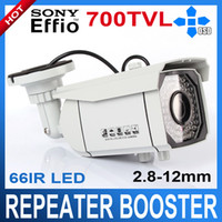 Wholesale 700TVL Effio e Sony CCD Security Outdoor IR Night Vision Camera mm Varifocal lens