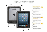 Wholesale 2013 New Waterproof Case Bag Pouch for ipad fast ship via DHL best factory price
