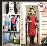 Wholesale Magic Mesh HandsFree Scree door Bugmesh Magnetic Door Screen Keep Bugs Out
