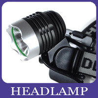 Wholesale 3 Modes Lumen CREE XML T6 LED Bicycle Cycle Bike Light Headlight Flashlight LED Headlamp Head Torch One Year Warranty