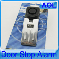 Wholesale Doorstop door stop Burglar Alarm high pitched alarm personal security sensors alarms stopper