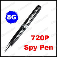 Wholesale Mini Pen hidden Camera Pen DVR x P HD Camcorder Support Video Audio Photograph GB TF Card Camcorder
