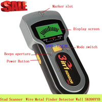 Wholesale 3 in Stud Scanner Joist Live Wire Metal Finder Wall Detector SK098YYB