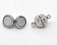 Wholesale Silver Tone Magnetic Clasps Findings mm Wholesales