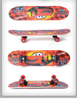 Wholesale 60cm Cartoon Kids Skateboard Mini Cruiser Plastic Longboard for Christmas Gift Mixed Order