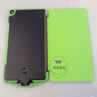 Wholesale 6500mah power bank Smart Flip Leather Cover for iPad Mini Battery Charger Case drop shipping