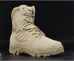 Wholesale Delta xue desert boots high help U S military boots war boots