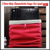 Textile Universal For Christmas Cell Phone Cases 50*pcs lot Flannelette soft liner bag for iPad Min i Ipad 2 3 Wholesale mini order DHL FREE SHIPPING