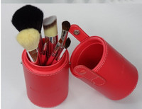 7 Pieces Face Powder Brushes  7Pcs Professional Makeup Cosmetic Brush Set Kit Tool With cylinder box free shipping