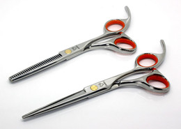 Wholesale High Recommend JOEWELL Hair Scissors INCH INCH Barber Scissors JP440C Shear Hair Cutting And Thinning Scissor Set