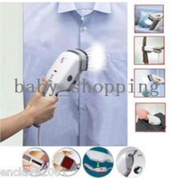 Wholesale Portable Travel Handheld Clothes Pants Steam Iron Brush HQS F010