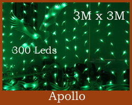 Willow Salix Leaf LED Curtain Lights String 3m * 3m 300 Christmas Wedding Ornament Xmas Party Holiday Background Fairy Lamp