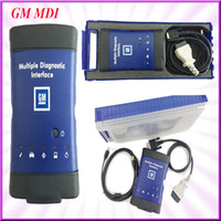 Wholesale New arrivals GM MDI Multiple Diagnostic Interface Professional Scanner Auto Diagnostic Tools without Software by DHL