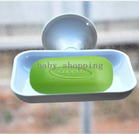 Polyester   Creative Vacuum Soap Holder Container (Stick to Wall) HQS-Y23710