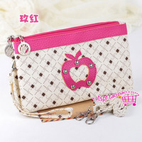 Wholesale Fashion Women s Dual usage Rivets Style Shoulder Bags Wallet Purse Clutch Hand Bag WOMEN PU Leather Handbags Totes