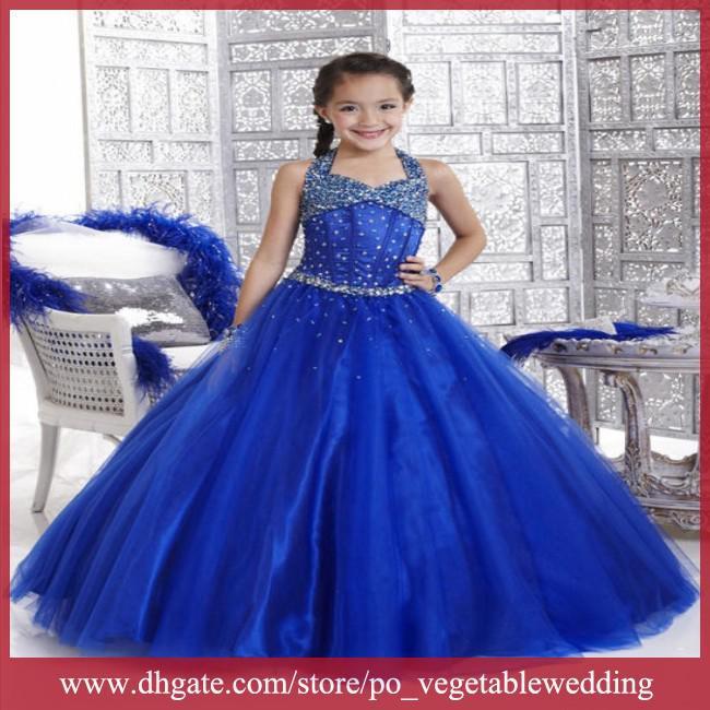 royal blue dresses for little girls | Gommap Blog