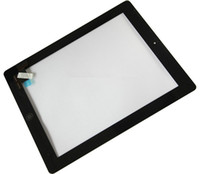 Wholesale Touch Screen Digitizer Panel Glass Assembly with Adhesive And Button for ipad ipad2 Black White Cheap