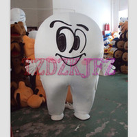 Wholesale The new high grade dental girl Mascot costume Cartoon Costume Halloween Christmas Costumes