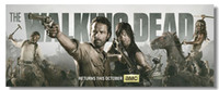 Cheap The Walking Dead TV Sea 1 2 3 Silk Poster Wall Poster 04Silk Canvas Poster hot Painting Room Decorate