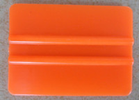 Wholesale Plastic Orange color Car vinyl Film sticker wrapping Scraper squeegee tools size cm cm Fedex