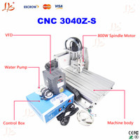 Wholesale CNC Z S water cooled cnc router cnc milling machine engraver with w VFD spindle cnc engraving machine