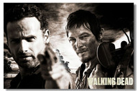 Cheap The Walking Dead TV Sea 1 2 3 Silk Poster Wall Poster 010 Silk Canvas Poster hot Painting Room Decorate