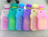 100% Fit Silicone Case Soft Case Candies 3D Perfume Bottle C...