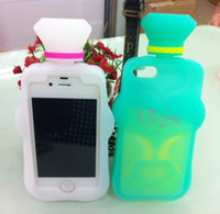 Silicone Case Soft Case Candies 3D Perfume Bottle Cover Prot...