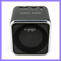 Wholesale MUSIC ANGEL USB speaker TF card sound box FM radio Card reader mini speaker