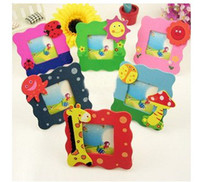 9cm*9cm no Wood Wood Children's Gifts Cartoon 4.8*4.8 Picture Photo size Frame L183