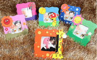 9cm*9cm no Wood High Quality Photo Frame Creative Student Prizes Special Wood New Strange Small Cartoon Picture Photo Frame L183