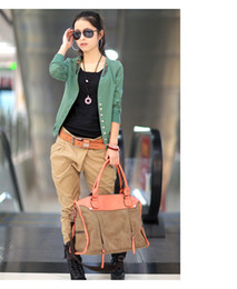 Wholesale 2013 Hot Sale New Autumn Collection Womens Basic Slim Short Coat Jacket Blazer X XL XXL XJ7