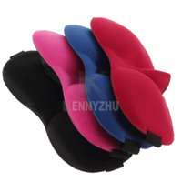 Wholesale Sponge D Sleeping Eye Mask Shade Nap Cover Blindfold Sleeping Eyeshade Rest