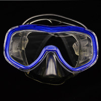 Wholesale 1 piece Professional Aviator Style Diving Set Diving mask diving glasses