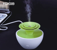 Wholesale Mini USB Humidifier YGH389 Greenhouse Humidifier for office or home use Mini Ultrasonic Aroma Diffuser Air Humidifier Hot Sale