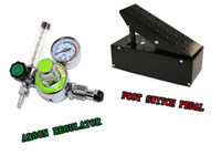 Wholesale high quality Welding Foot Control Pedal and argon regulator