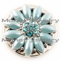 Wholesale A17029 noosa chunk snap button for leather bracelet
