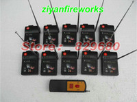 Wholesale EMS DHL T10 Equipment m paty Fireworks Firing system ignition CUES Radio fire Digital Control Electronic Wire display
