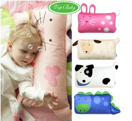 Wholesale Cat Dog Ribbit Dinosaur Sheep Style Animal Mini Modelling Children Baby Pillows Factory Only Pillow Sheath QS376