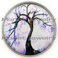 Other big chunk - A19065 synthetic chunk with big tree fashion jewelry mm button for noosa bracelets