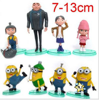Despicable Me figures a set of 8 styles Villain Papa and dau...