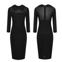 Free shipping!! New Sexy Trendy Lapel Club Women Dress Black DT#206 (Factory Price)