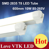 Wholesale T8 LED Tube Light Holder CM W SMD2835 Tubes Lamp Energy Saving Fluorescent Bulbs