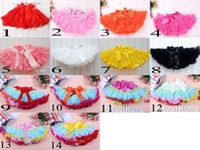 korea kids style - Fast shipping Baby TuTu Dress Korea Style petti skirt Dresses Kids cute bowknot Skirt Girl s Pleated Skirt