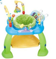 Wholesale Multifunctional Baby Fitness Frame With Piano Years Baby Toys Plastic Jumping Chair Learning amp Education Toys