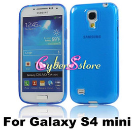 Wholesale For S4 mini Matte Frosted inside Glossy On Surface Soft TPU Case Cover For Samsung i9190