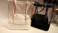 Wholesale 2013 NEW transparent pack jelly bag crystal package bag fashion women handbags BG110