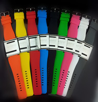 Wholesale Luxury Aluminum Silica gel I Watch Kits Band Wrist Strap iwatchz Wrist Watch For ipod Nano th Retail package colors fast via DHL
