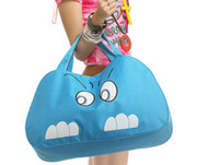 Wholesale 2013 new fashion travelling bag large bag fashion simple cartoon cat handbags large handbag bag BG108