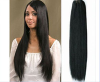 Wholesale HOT Trade AAAA Brazilian Virgin Remy hair weave silky straight mix oz pc factory outlet price